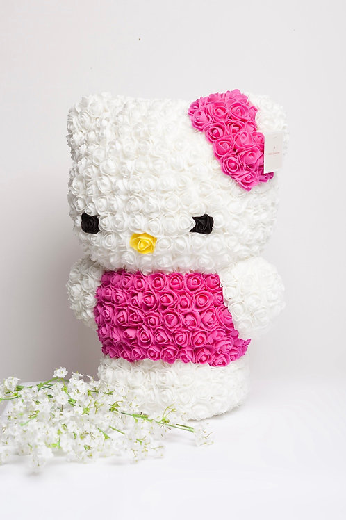 Hello Kitty From Roses