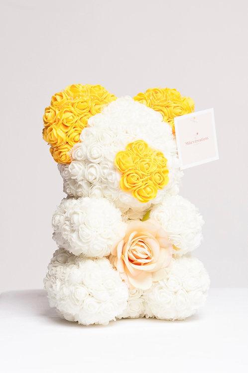 Yellow Ears Rose Bear