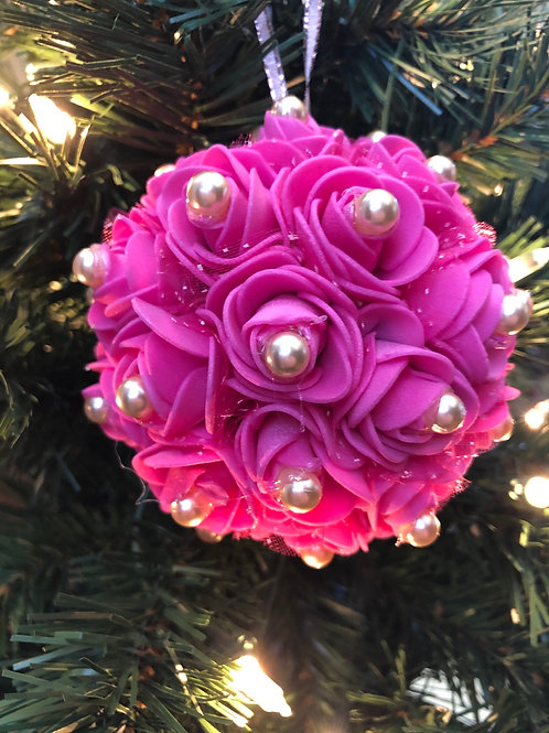 Raspberry Christmas Ornament