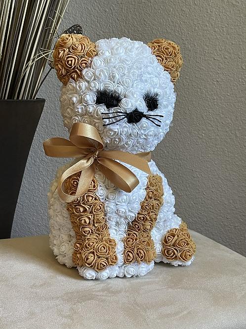 Cute White & Golden Kitty