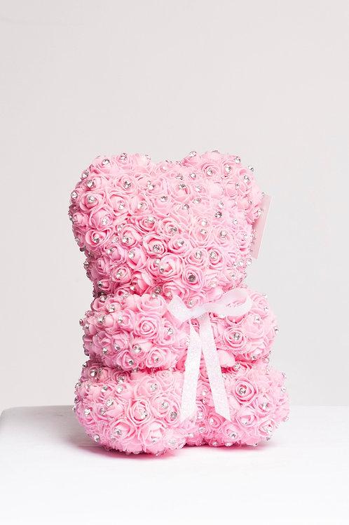 Bright Pink With Diamonds