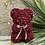 Thumbnail: Burgundy Rose Bear