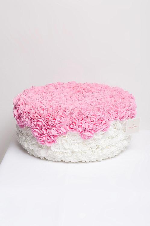 """Fake 14"""" diameter cake"""
