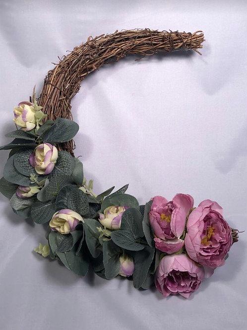 Half Moon Wreath