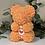 "Thumbnail: Orange With Heart ""Name A Bear"""