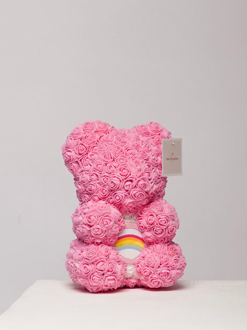 """Pink With Rainbow  """"Name A Bear"""""""