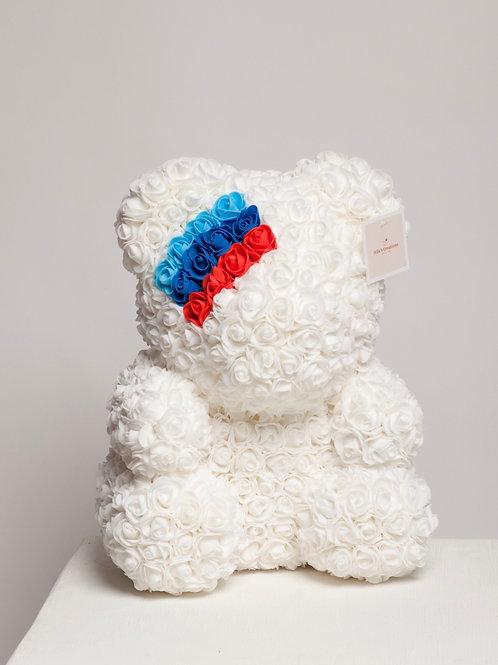 White M3 BMW Rose Bear