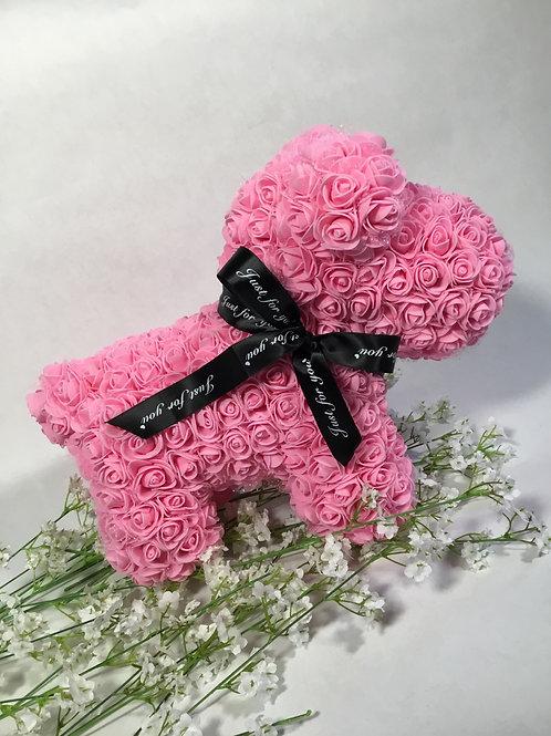 Pink Rose Puppy