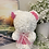 Thumbnail: White Bear With Pink Butterfly
