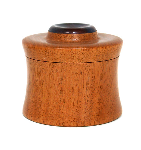 Resin & Wood Lidded Box