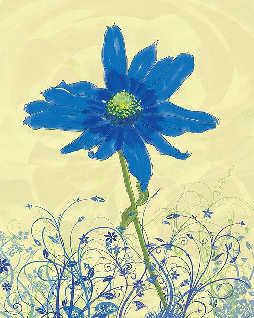 Single Flower - watercolor