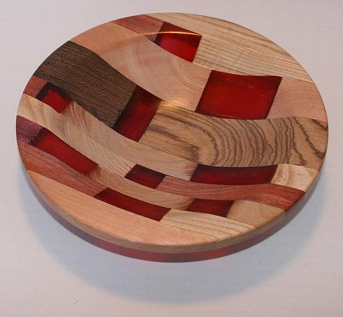 Resin & Wood Bowl