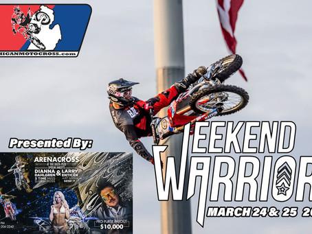 Weekend Warrior - Friday March 23 UPDATED!