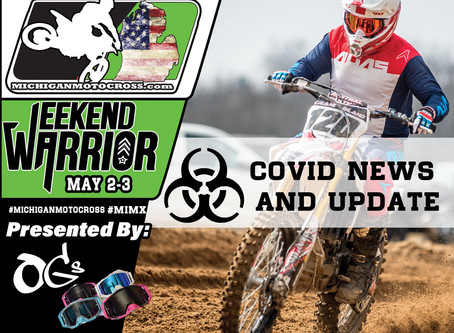 WEEKEND WARRIOR - COVID 19 UPDATE-  MAY 2-3  2020