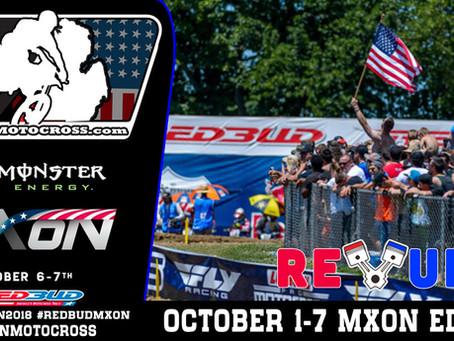 REV UP -  October 1-7  MXON Edition