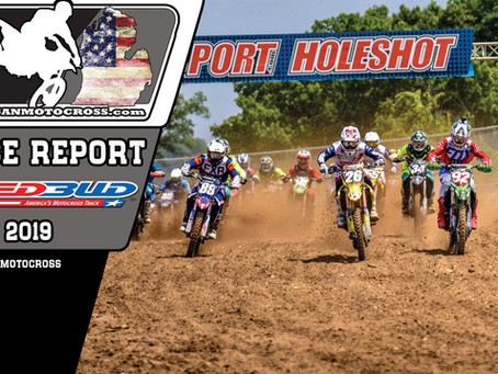 Race Report  - RED BUD