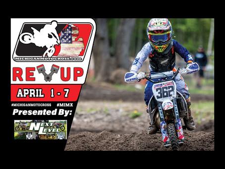 REV UP  - April 1 - 7