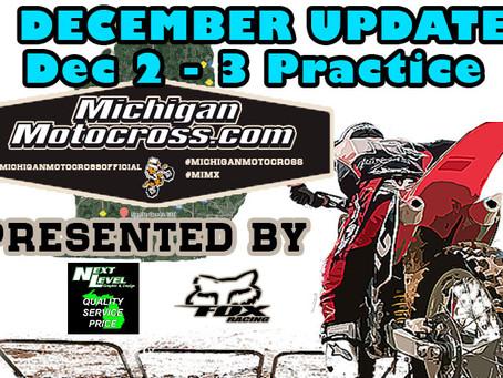 UPDATE!  Riding In December!