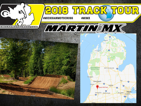 2018 Track Tour : Martin MX with Vlog