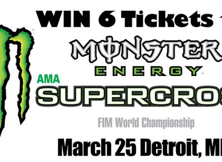 Win Detroit SX Tickets