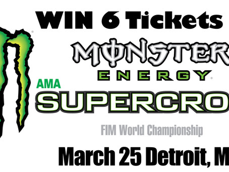 Win Detroit SX Tickets