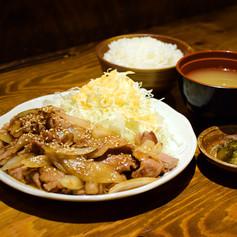 極みの生姜焼き定食
