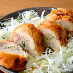 鉄板鶏餃子