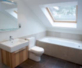 loft conversion - bathroom