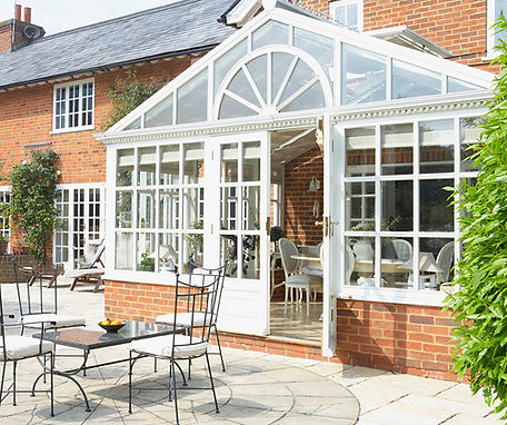 house extension  - conservatory