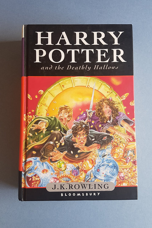 First Edition Harry Potter and the Deathly Hallows DNWAB