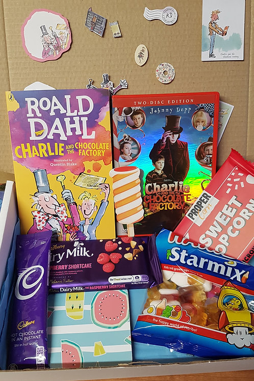 Charlie and the Chocolate Factory Box