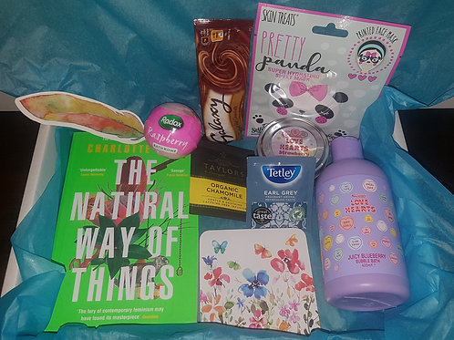 Bath Bomb Book Box