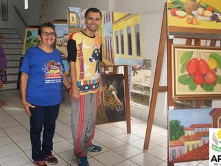 Exposição revela talentos de alunos Escola Eney Santana
