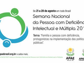 APAE de São Luís comemora Semana Nacional da Pessoa com Deficiência Intelectual e Múltipla.