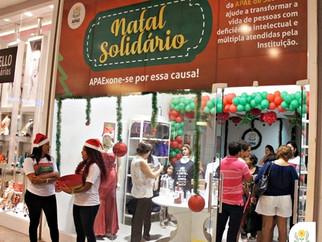 APAE de São Luís inaugura loja da campanha 'Natal Solidário' no Shopping da Ilha