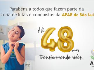 APAE de São Luís: 48 de anos de história de lutas e conquistas