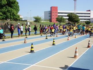 Escola Eney Santana participa do Festival Paraolímpico de Esportes Adaptados