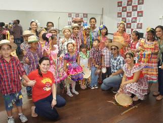 Festa junina 2019 da Escola Eney Santana, mantida pela APAE de São Luís