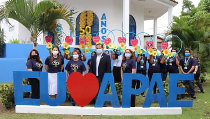 APAE de São Luís realiza Celebração Eucarística em celebração aos seus 50 anos