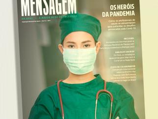 53ª edição da revista Mensagem da Apae Brasil, traz temas importantes vivenciados pela rede Apaeana.