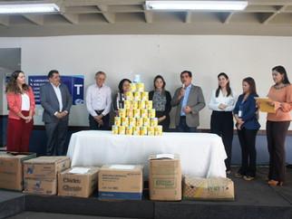 CEST doa alimentos para a APAE de São Luís