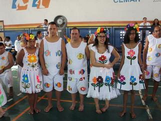 XV Mostra de Conhecimentos da escola Eney Santana envolve alunos e seus familiares