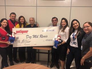 APAE de São Luís recebe doação do Grupo Potiguar