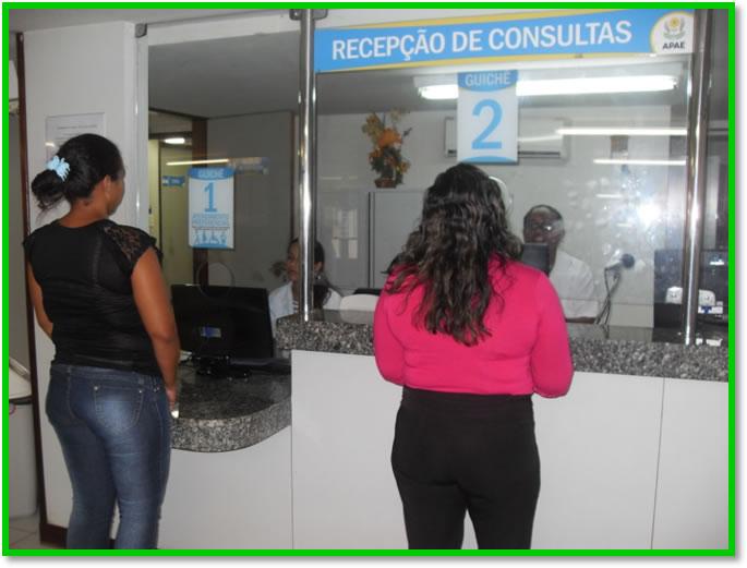 Recepção de Consultas