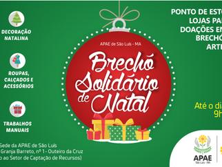 APAE de São Luís promove Brechó Solidário de Natal