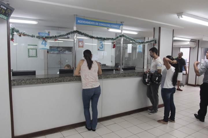 Ambulatório e entrega de exames