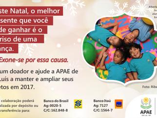 APAE de São Luís realiza o lançamento da Campanha de Natal