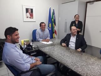 APAE de São Luís recebe doação de alimentos da WP Games e do vereador Estevão Aragão