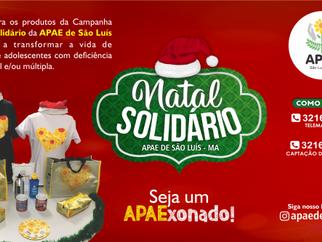APAE de São Luís lança Campanha Natal Solidário – edição 2018