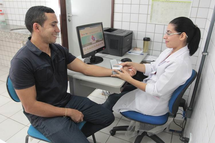 Aferição de pressão arterial